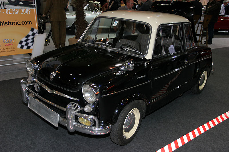 NSU Prinz 3, Bj. 1960, 600 cccm, 40 PS, ca. 150 km/h