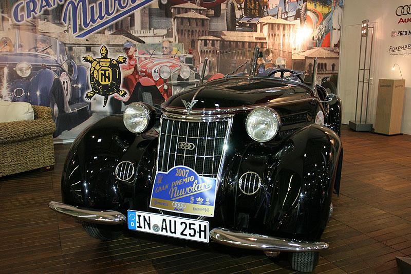 Wanderer W 25 K, 1.963 cccm, 6-Zylinder, 85 PS, 259 produzierte Einheiten, 7.950 Reichsmark
