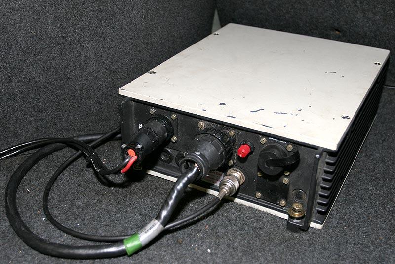 B2-Netz Telefon, Steuerungseinheit im Kofferraum