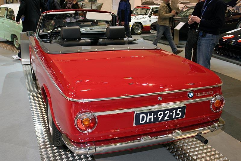 BMW 1600 Karmann Kabriolet auf der Techno Classica 2008
