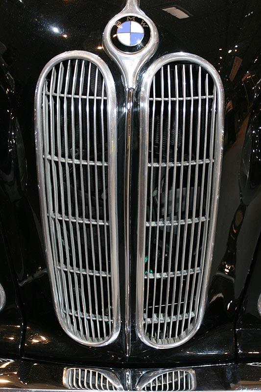 BMW 3200S, BMW-Niere, Techno Classica 2008