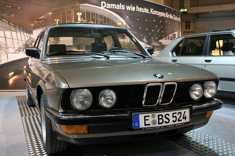 BMW 524td auf der Techno Classica 2008