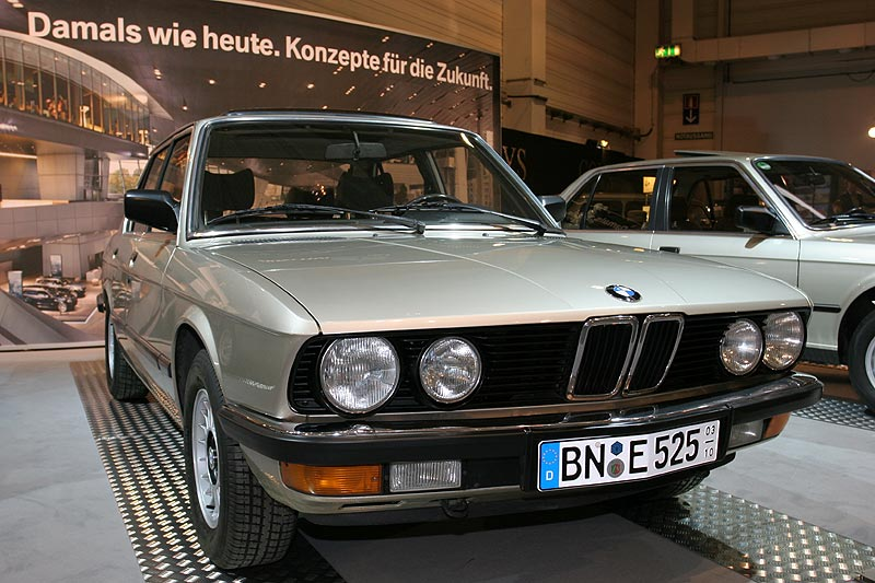 BMW 525e auf der Techno Classica 2008