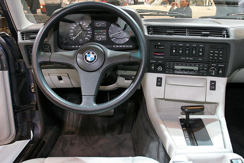 BMW 735i Highline, Cockpit