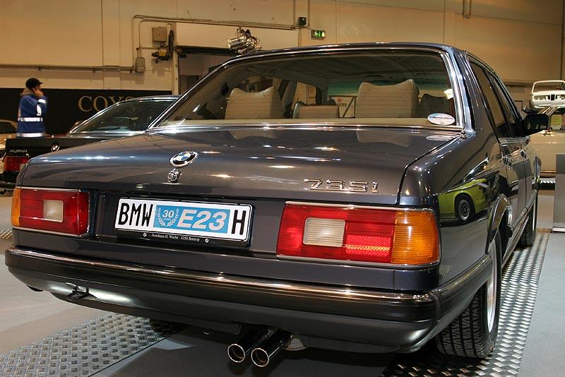 BMW 735i Katalysator Highline auf der Techno Classica