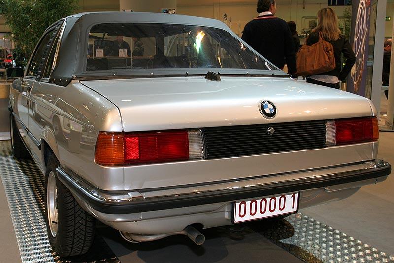 BMW Baur TC1 E21 auf der Techno Classica 2008