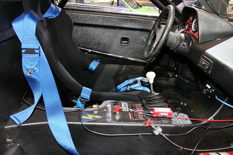 BMW M1 Procar, Fahrerkabine