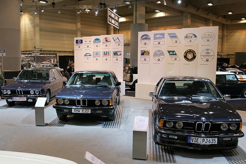 BMW 735i Katalysator auf der Techno Classcia 2008