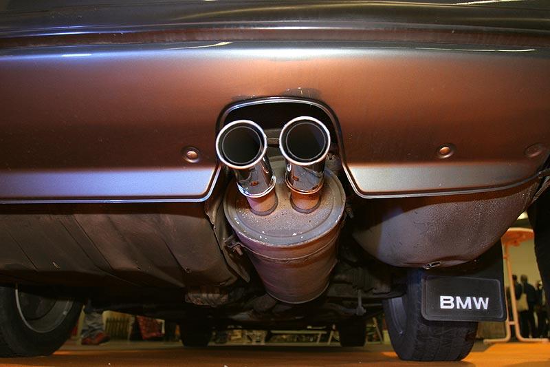 Endrohre am BMW 745iA Executive