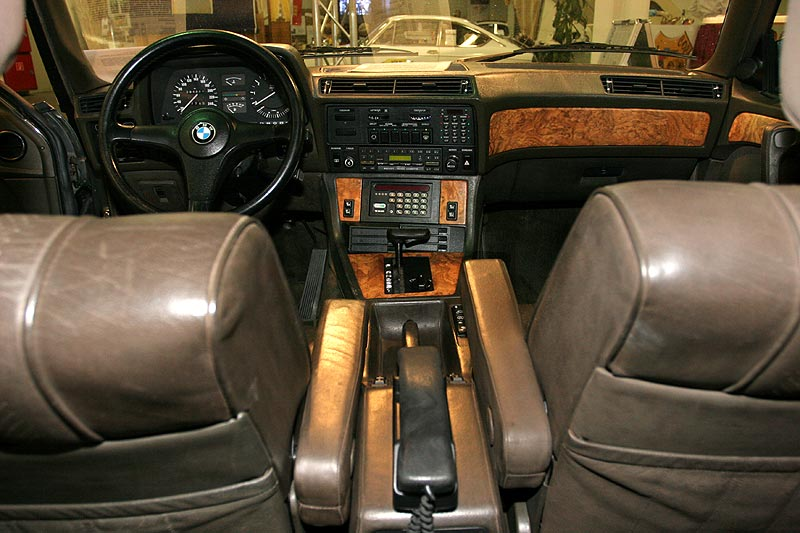 BMW 745iA Executive, Innenraum
