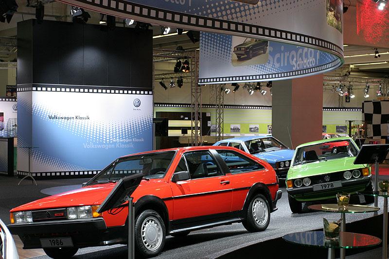 VW Scirocco Ausstellung auf der Techno Classica 2008