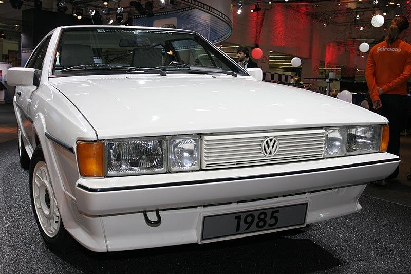 Foto: VW Scirocco ?White Cat?, 2  Generation, produziert 21  März