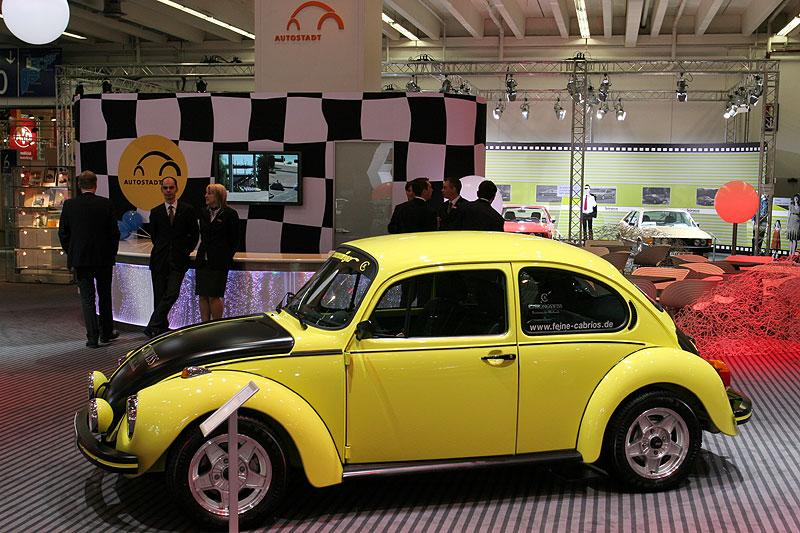 """VW 1303 S """"Gelb-schwarzer Renner"""", aus dem Jahr 1973, auf 3.500 Exemplare lemitiert"""