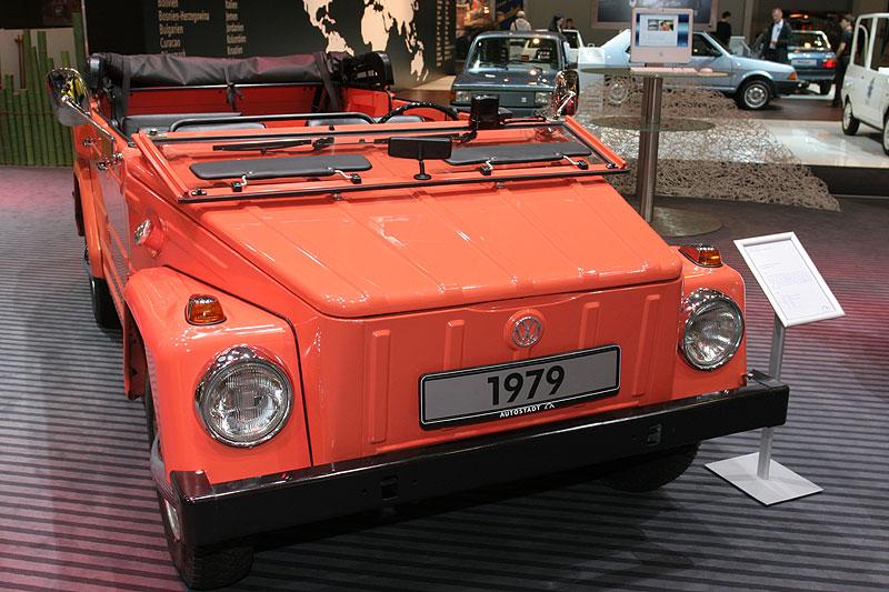 Volkswagen 181 auf der Techno Classica 2008
