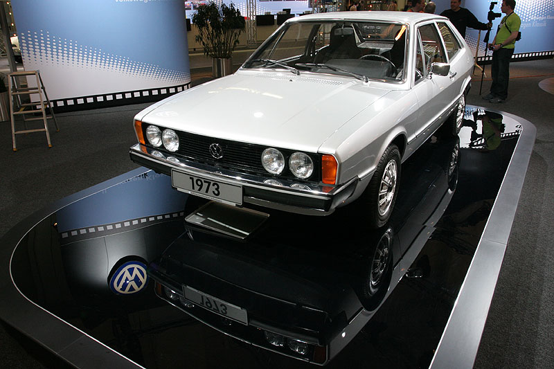 VW Scirocco, 1. Generation, Modelljahr 1974, Fahrgestell-Nr. 1, 51 kw/70 PS, 3-Gang-Automatic