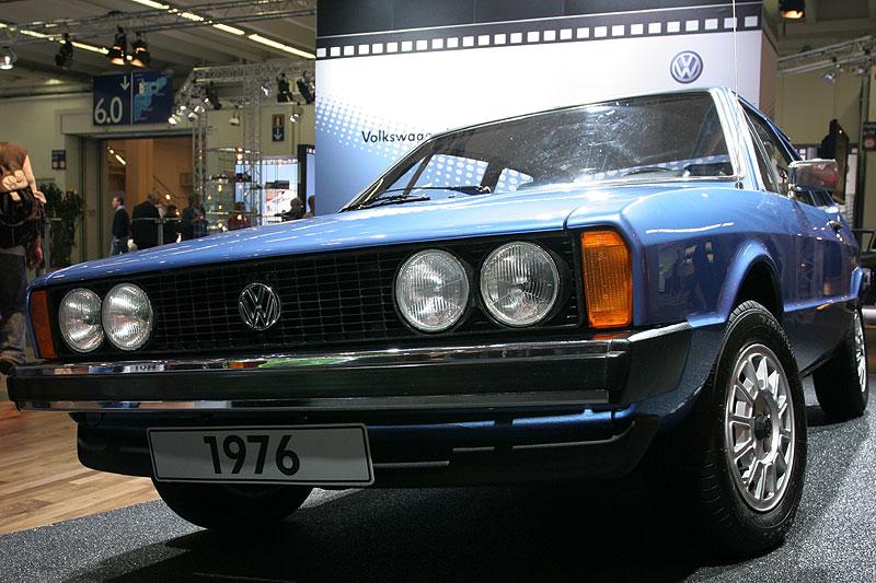VW Scirocco GTI, 1. Generation, ausgeliefert am 24. August 1976, ancona metallic