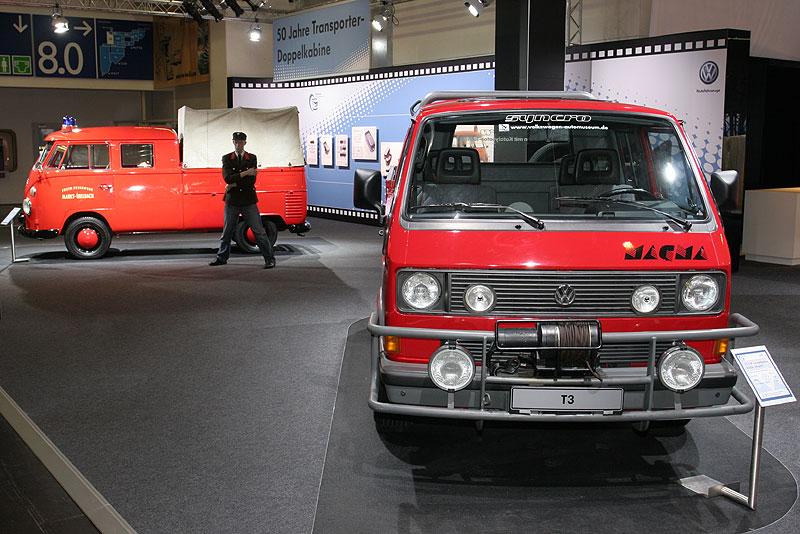 VW Bus-Ausstellung auf der Techno Classica 2008