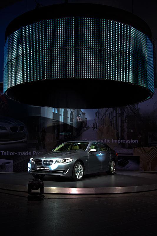 Weltpremiere der neuen BMW 5er-Limousine (Modell F10)