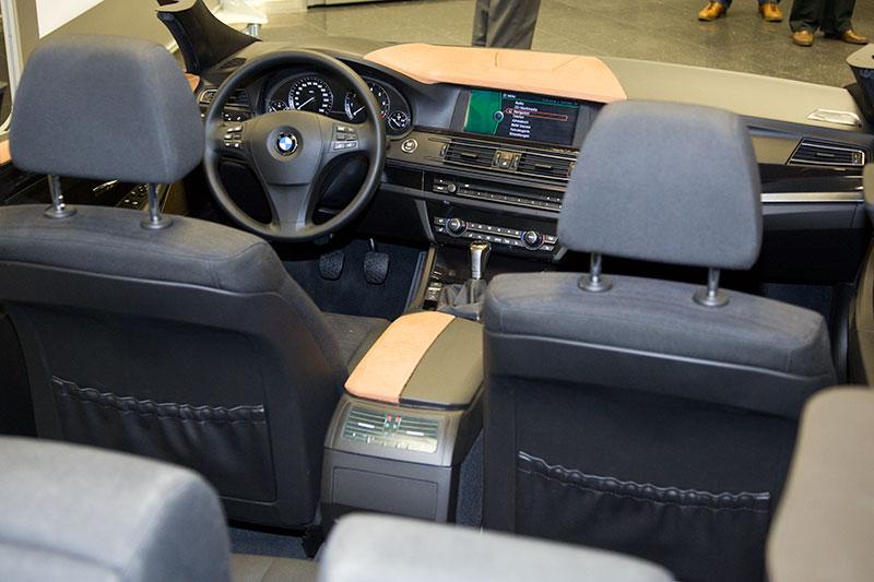 Interieurmodell BMW 5er-Limousine (F10) im FIZ München