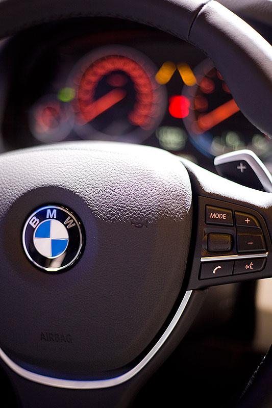 Lenkrad im BMW 550i (F10)