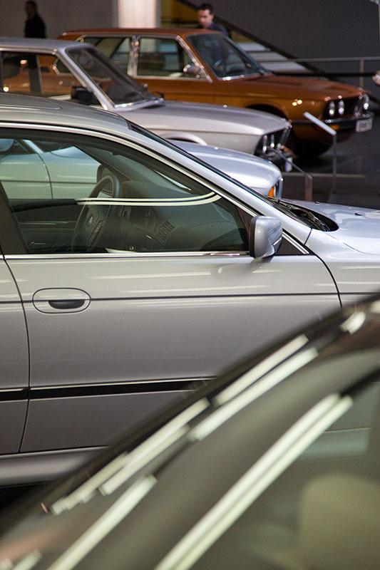 BMW 5er Generationen im FIZ