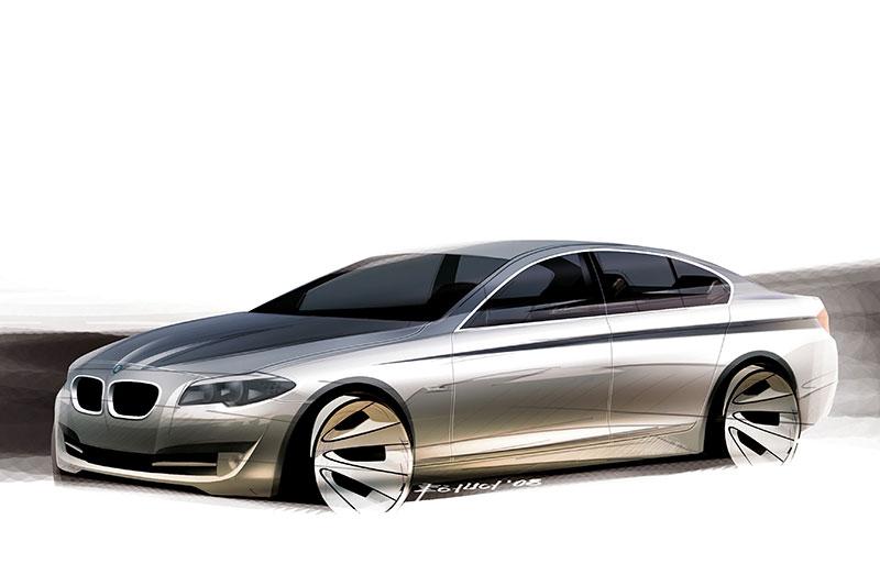 BMW 5er Limousine (Modell F10), Exterieur-Skizze