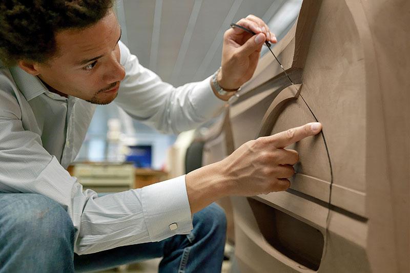 BMW 5er Limousine (Modell F10), Interieur-Designer Oliver Heilmer