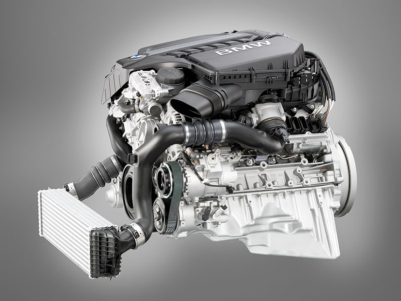 BMW Reihensechszylinder-Ottomotor mit TwinPower Turbo und High Precision Injection und Valvetronic