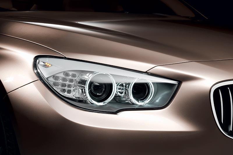 BMW Concept 5 Series Grand Turismo, Scheinwerfer
