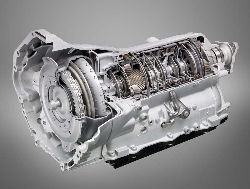 BMW 5er Gran Turismo, 8-Gang-Automatikgetriebe von ZF