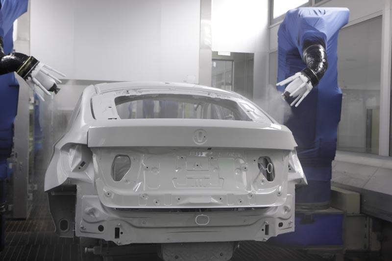 BMW 5er Gran Turismo, Produktion im BMW Werk Dingolfing