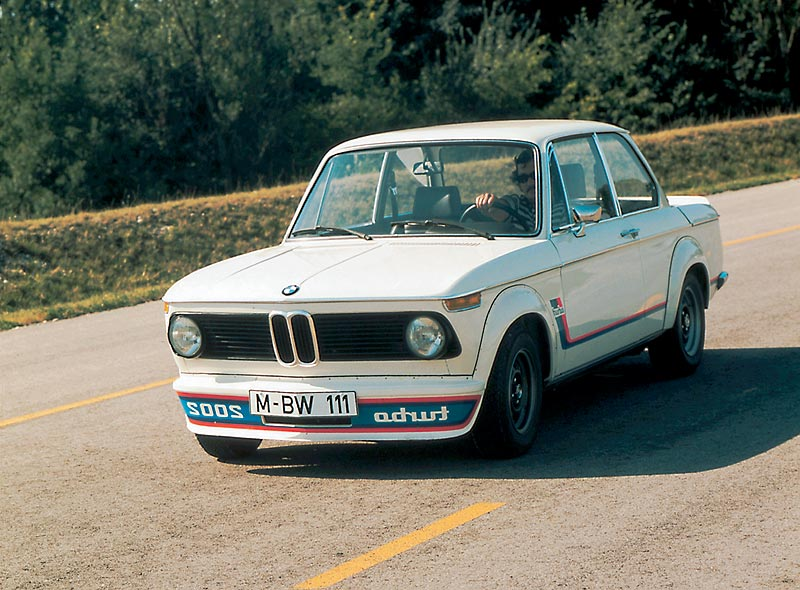 BMW 2002 turbo, 1973