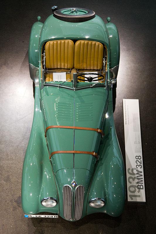 BMW 328, Baujahr 1936, im BMW Museum München