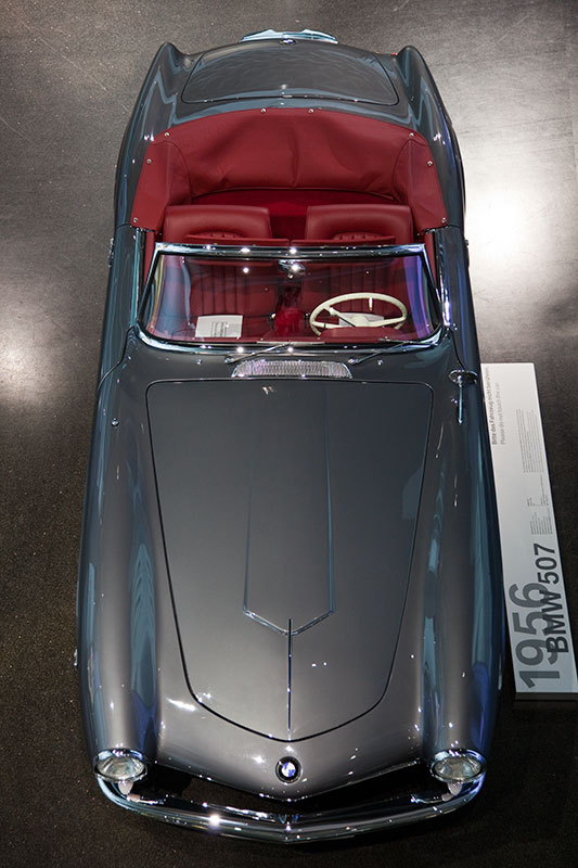 BMW 507, bis heue überleben fast alle BMW 507 in Museen oder Sammlungen