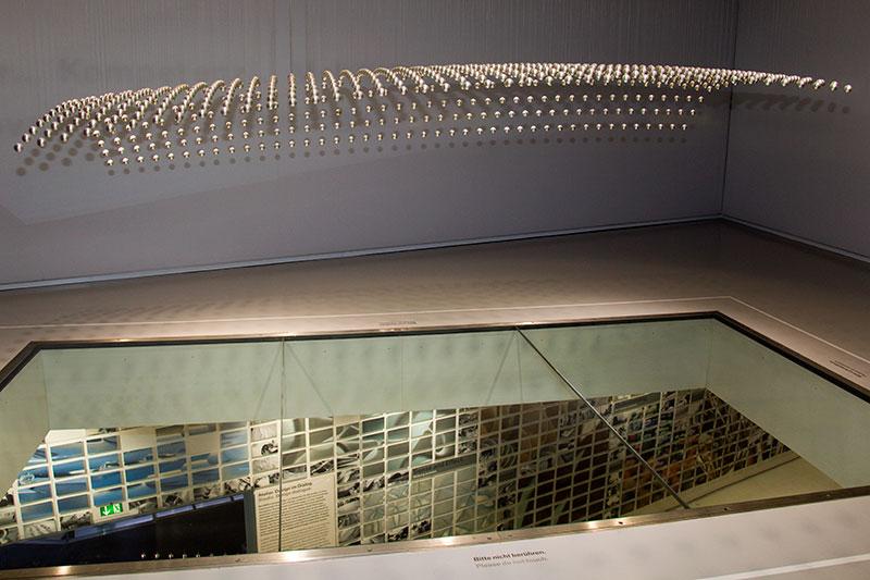 Kugeln der kinetischen Figur im BMW Museum München