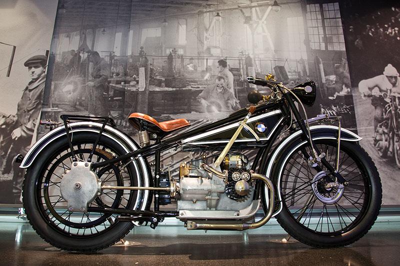 Historisches BMW Motorrad