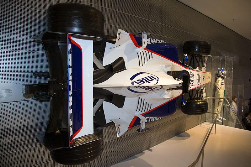 Formel Rennwagen im BMW Museum