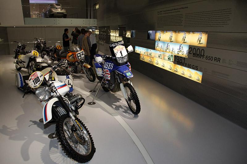 BMW Cross-Motorräder im BMW Museum