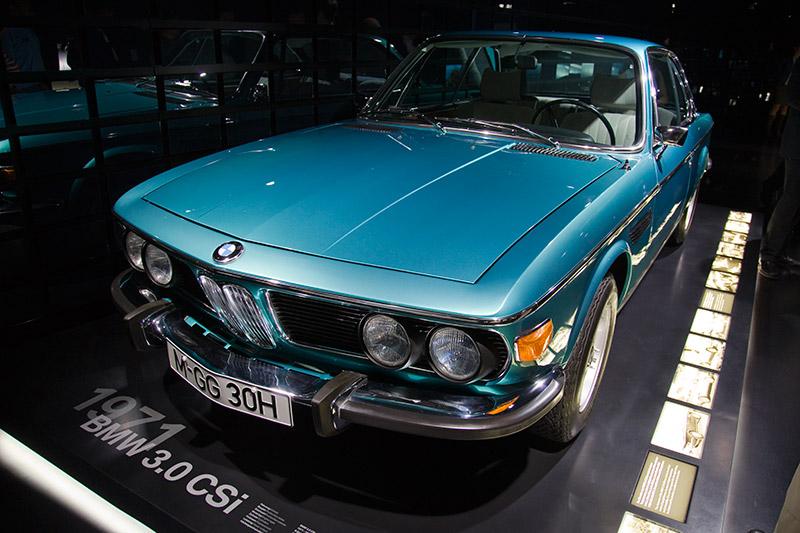 BMW 3,0 CSi aus dem Jahr 1971, Hubraum: 2.985 ccm, 180 PS, 272 Nm bei 4.300 U/Min.