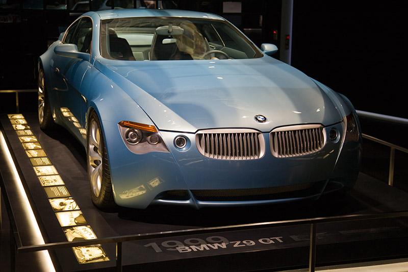 Concept Car BMW Z9 GT, Weltpremiere auf der IAA 2009 in Frankfurt, V8-Turbo-Diesel-Motor