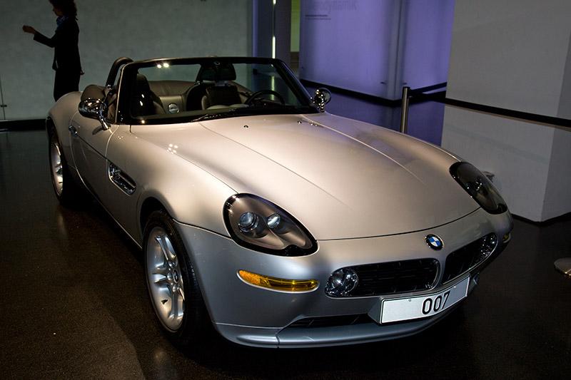 BMW Z8, wurde einst im Film von James Bond (Agent 007) genutzt