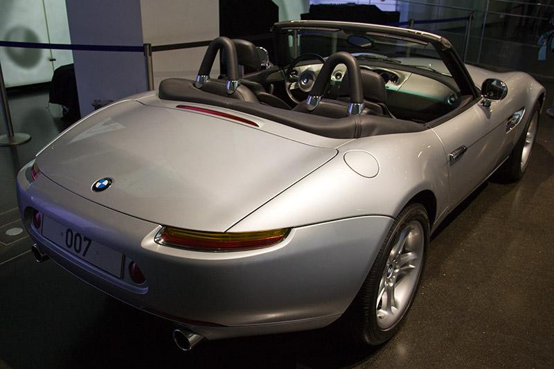 BMW Z8 im BMW Museum