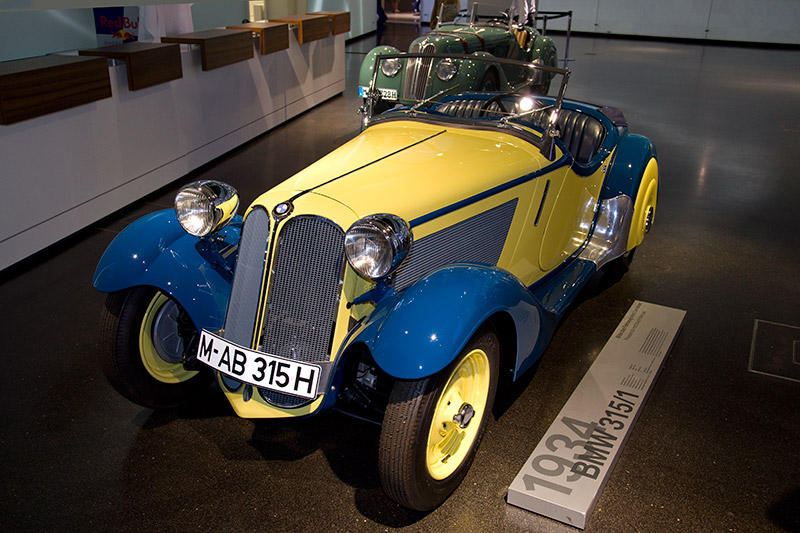 BMW 315/1 aus dem Jahr 1934, Sportroadster mit Technik des BMW 315, allerdings mit 40 PS bei 4.300 U/Min.