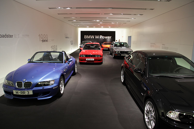BMW M Power Studio im BMW Museum