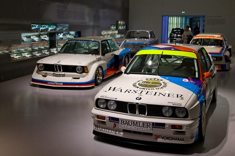 Ausstellungsraum 'BMW Tourenwagen'