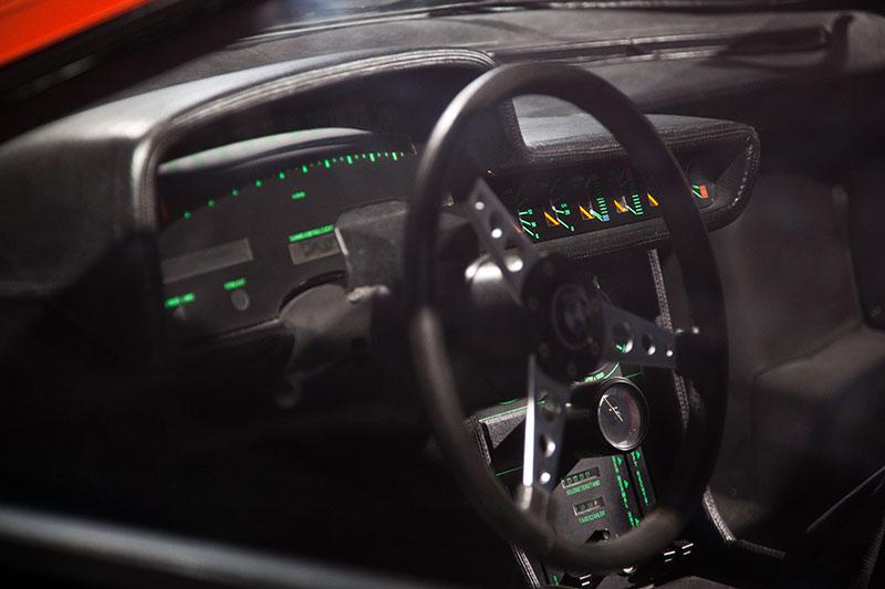 BMW Turbo 1972, mit fahrerorientiertem Cockpit, das 1975 erstmals im BMW 3er ebenfalls zum Einsatz kommt