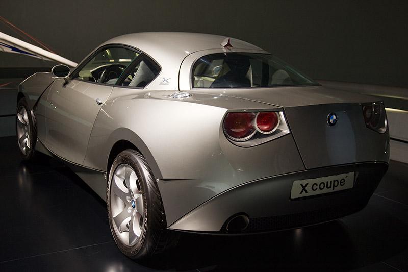 BMW Concept X Coupé 2001, im BMW Z4 wird die neue Designsprache 2002 erstmal übernommen