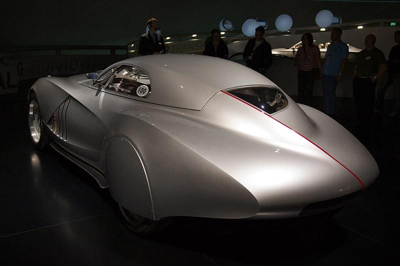 BMW Concept Coupé 2006, Hommage an die Mille Miglia, emotionale Aerodynamik, zukunftsweisende LED Lichttechnik