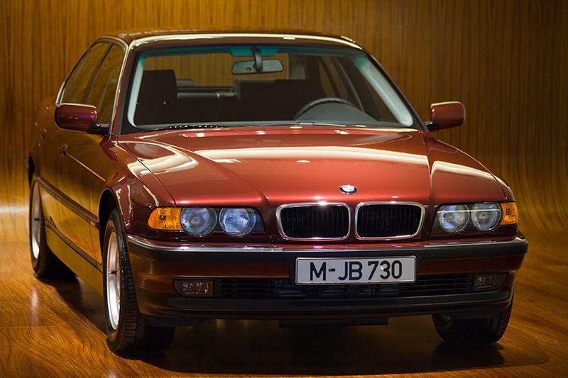 BMW 730d, Bauzeit: 1998-2001, Stückzahl: 12.336, 6-Zyl.-Dieselmotor, Hubraum: 2.926 ccm, 193 PS bei 4.000 U/Min., vmax: 220 km/h