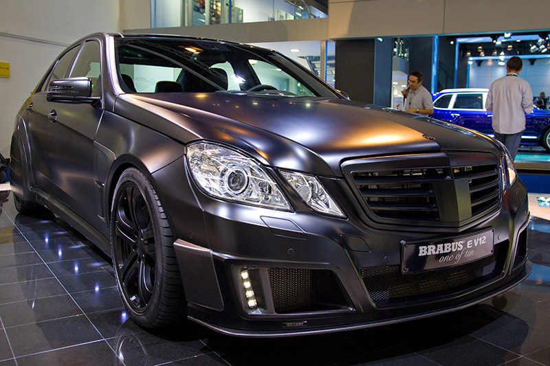 """Brabus E V12 """"one of ten"""" die schnellste Limousine der Welt"""
